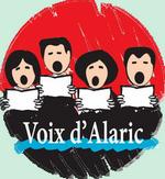 Logo rond voix alaric